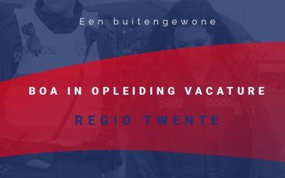 Vacature BOA Twente in opleiding