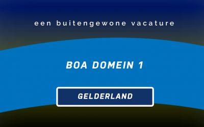 Vacature BOA | Gelderland