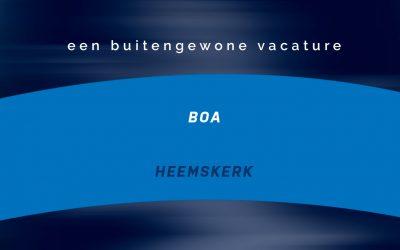 Vacature BOA | Heemskerk