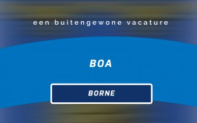 Vacature: BOA | Borne