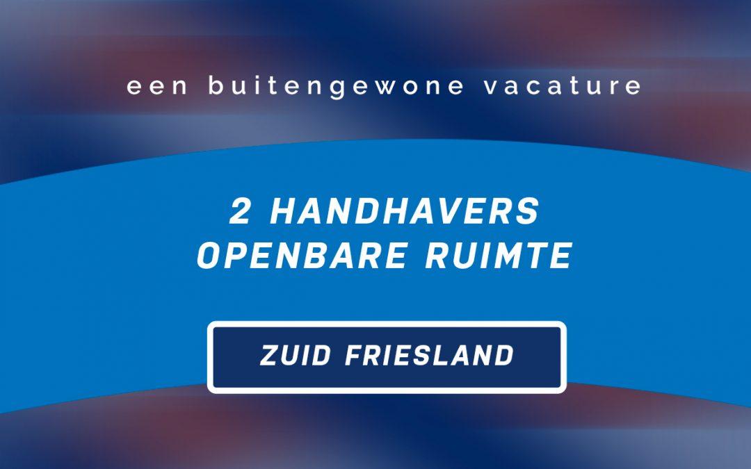 Vacature: 2 part-time BOA's voor Zuid Friesland